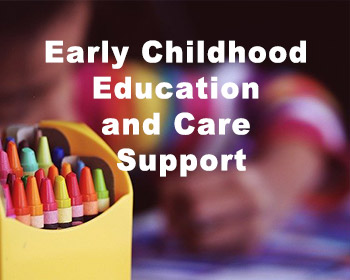 early childhood education and support