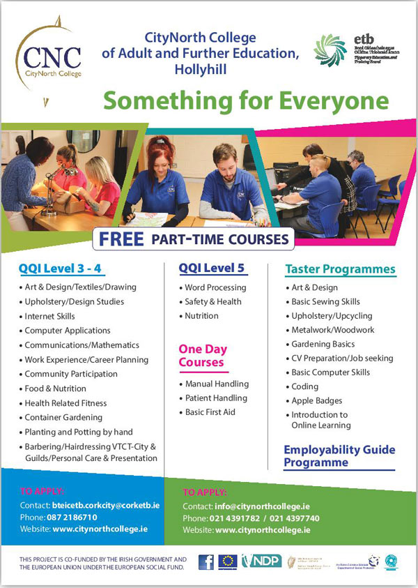 CityNorth College Free Courses 2020